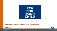 Membership Campaign Introduction & Training